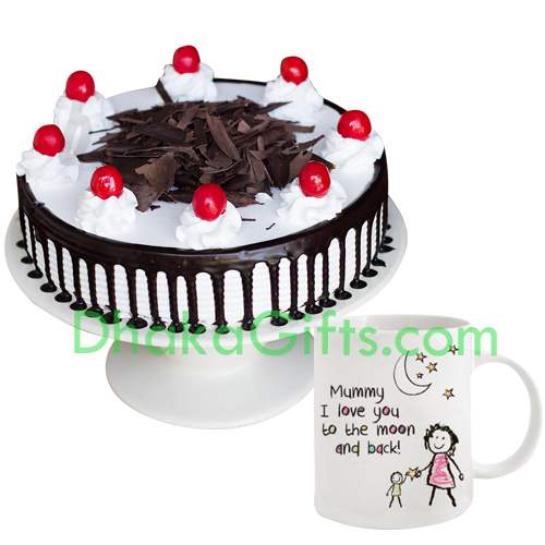Mothers Day Cake With Mug
