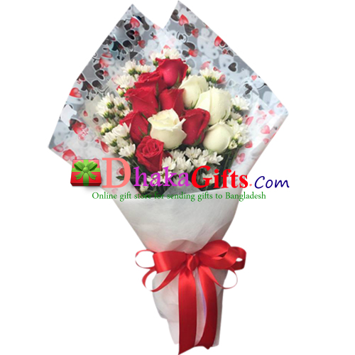 257cc95bf17a Romantic Flowers and Gifts Send to Dhaka in Bangladesh