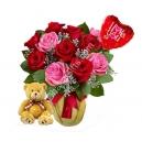 Flower Bear with Balloon to Bangladesh