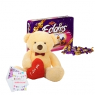 send teddy with chocolate to dhaka,bangladesh