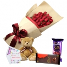 send flowers, bear with chocolates to dhaka, bangladesh