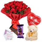 send flower balloon chocolate bear to dhaka