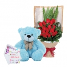 send flower with bear to dhaka, bangladesh