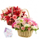 send flowers basket to dhaka, bangladesh
