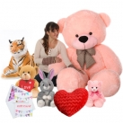 teddy or stuffed toy buy online and send to bangladesh