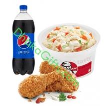 2 pcs Chicken Combo(KFC)