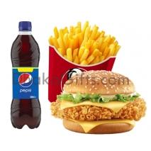 Zinger Burger Combo-KFC