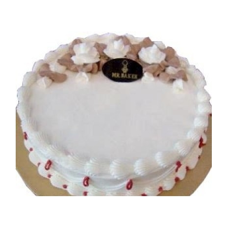 Send 2.2 Pounds Vanilla Round Cake Mr Baker to Dhaka in Bangladesh