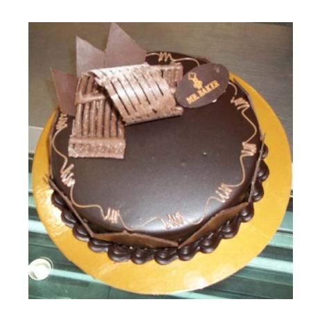 Send 2.2 Pounds Opera Chocolate Cake by Mr Bake to Dhaka in Bangladesh