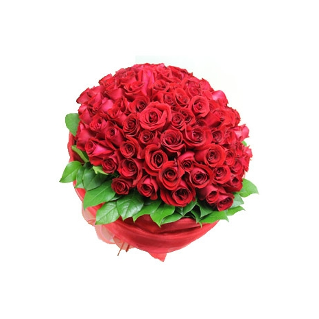 Send 100 Red Roses to Dhaka in Bangladesh
