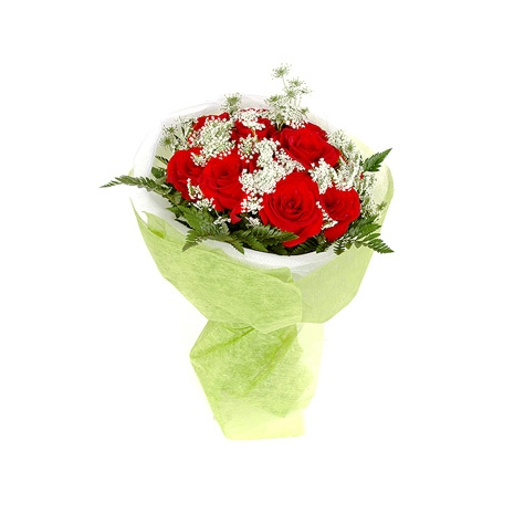 Send Romantic Love with Red Rose to Dhaka in Bangladesh