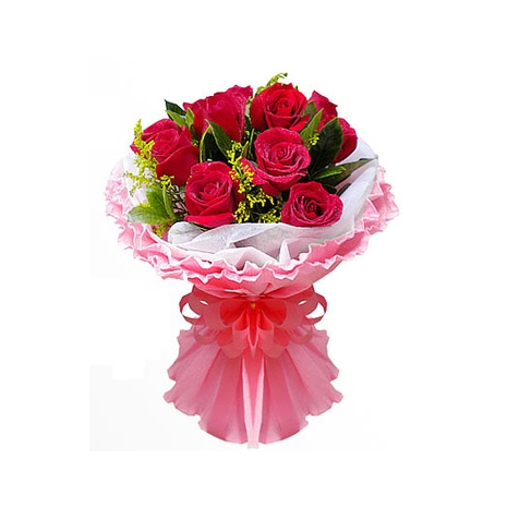 Send Romantic Things 12 Red Roses to Dhaka in Bangladesh