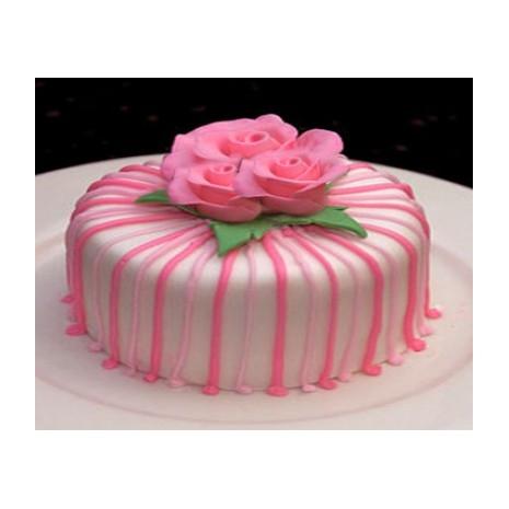 Send 2.2 Pounds Vanilla Round Cake Swiss Cake to Dhaka in Bangladesh