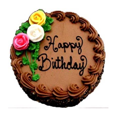 Send 2 2 Pounds Chocolate Round Shape Cake By Yummy Yummy To