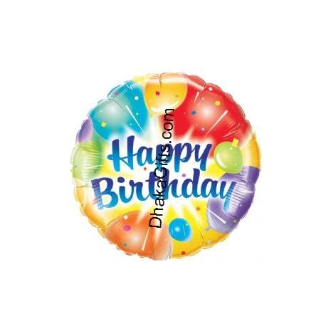 Send 18 inch Foil Balloon to Dhaka