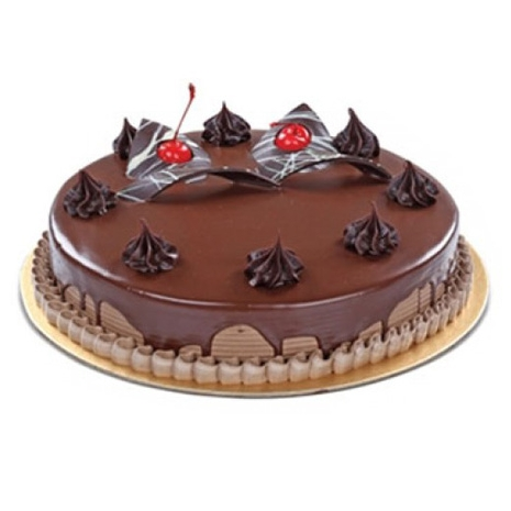half kg chocolate round cake send to dhaka
