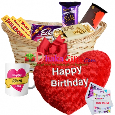 birthday special gifts package send to dhaka