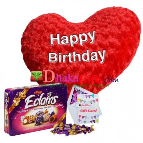 Best Chocolaty Love Gifts To Dhaka