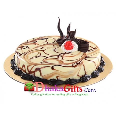 send marble round cake to dhaka