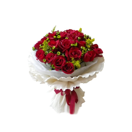 Send 24 Beautiful Red Roses to Dhaka