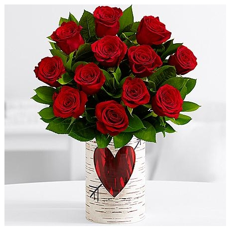 12 Romantic Love Red Roses Send to dhaka,send to bangladesh