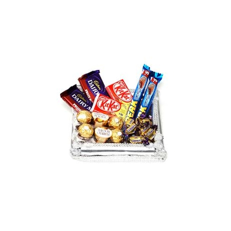Send Chocolates Lovers Basket to Dhaka